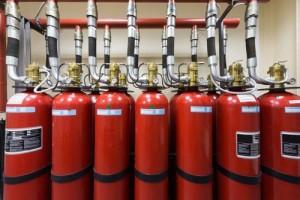 газовое автоматическое пожаротушение